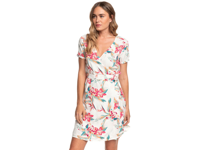 Roxy Monument View Robe Femme, snow white tropic call